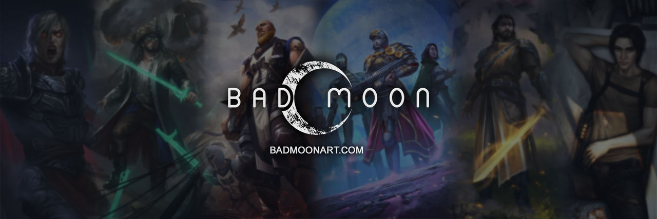 Bad Moon Banner by mkitho