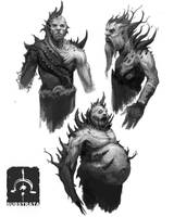 Corrupted Forest Dudes by NickDeSpain