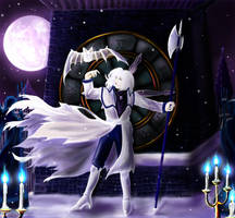 Snow on the Cursed Clock by Lydween