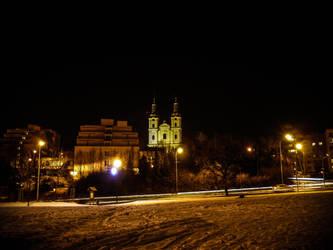 Church in lights by chosadesign