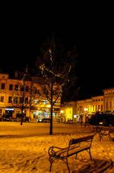 Snowy bench by chosadesign