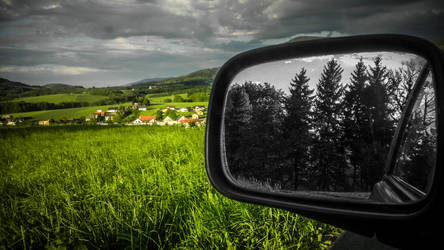 Rear-view mirror by chosadesign