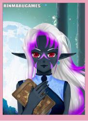 Dark Elf by SaphiraLuxray405