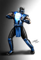 Sub Zero (Mortal Kombat) by jameslink