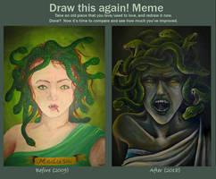 Draw This Again: Medusa by RatatoskAS