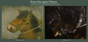 Draw This Again: Draught Horse by RatatoskAS