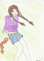 Girl by cleonina