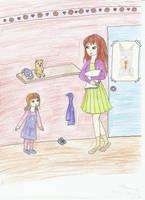 Amelia i Eliana by cleonina