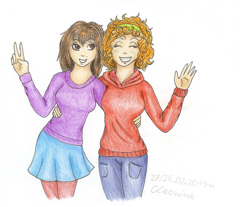 Nina i Tina 1 by cleonina