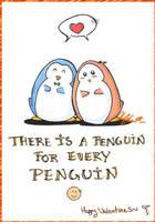 Penguin for a Penguin by IrukaKitty