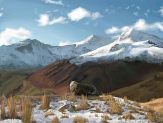 Mountains by Pillowthesheep