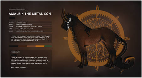 Amalrik the Metal Son by kaons