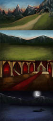 St. George - backgrounds for a film by Grees19