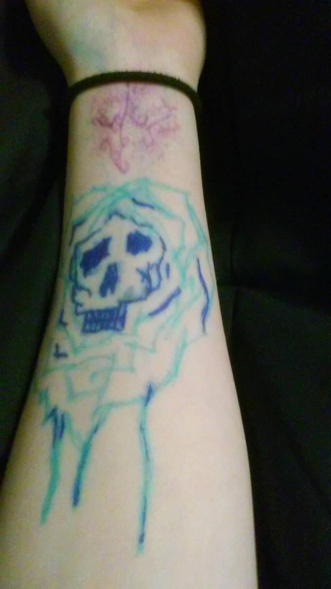 Skullrose by Boojaybabe