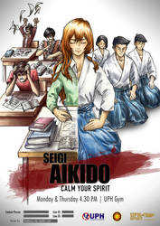 Aikido Poster [Cencors] by Blu3berryStar