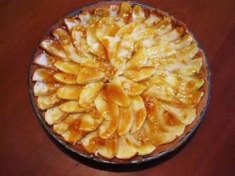 Tarte aux pommes by laclown76