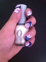 One stroke fleur by laclown76