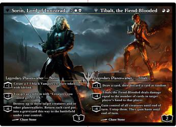 .Sorin vs Tibalt. by BLACKARUCADO