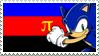PolySonic Stamp by SpazTheShoebill