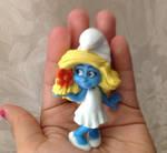My friend Smurfette by Prince5s