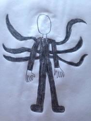 Halloween drawings: Slenderman by Prince5s