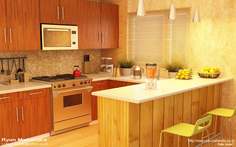 Kitchen Interior by ryan-mahendra