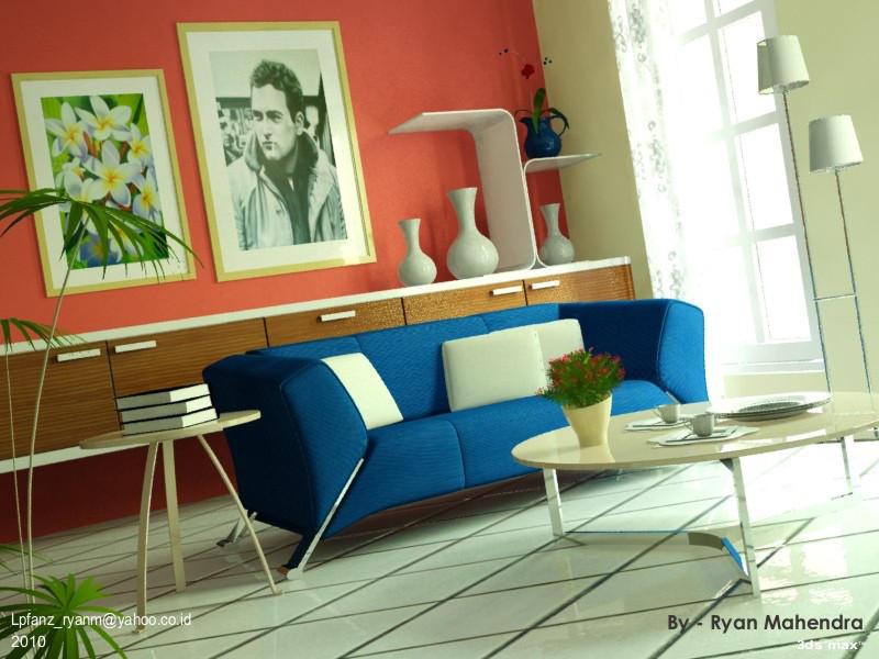 Living Room by ryan-mahendra