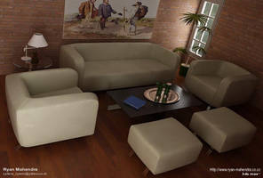 Living Room by ryan-mahendra