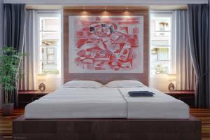 Bedroom by ryan-mahendra