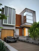 Exterior Rendering by ryan-mahendra