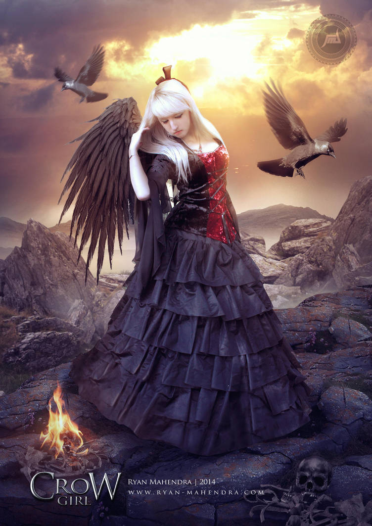 Crow Girl by ryan-mahendra