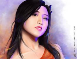 Naomi JKT48 by ryan-mahendra
