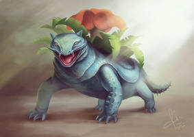 Bulbasaur by ryan-mahendra