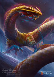 Ocean Dragon (The Winner of Creavorite Award 2016) by ryan-mahendra