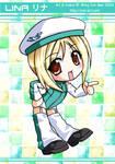 Rina - Ciel-Art.com Mascot by kurokumo