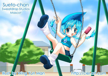 Swingin Sueto-chan by kurokumo