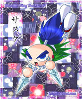 Mystical Ninja Sasuke by kurokumo