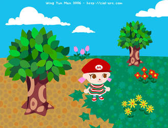 Animal Crossing Wild World by kurokumo