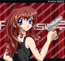 Gun Girl Assassin by kurokumo
