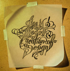 Life Calligraphy by MVRH
