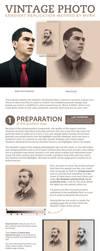Victorian Portrait - Gradient Replication Method by MVRH