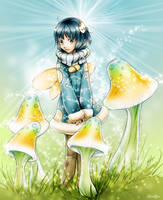 Mushroom Circle by Glorifin