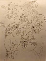 Samppa Sketch by WingedWarTigers