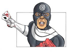 Bullseye defeat Daredevil by Spidertof