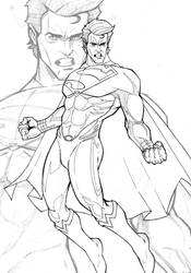 Man Of Steel - WIP 2 by Spidertof