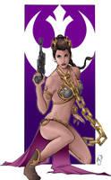 Princess Leia by Spidertof