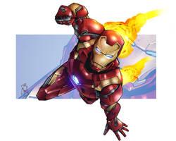 IronMan Civil War by Spidertof