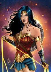 Wonder Woman by Spidertof