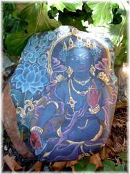Blue TARA River Stone by sami-edelstein