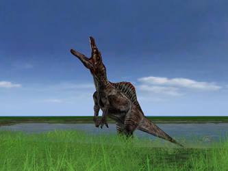 Screenie 3: Spinosaurus by SusannaNO2